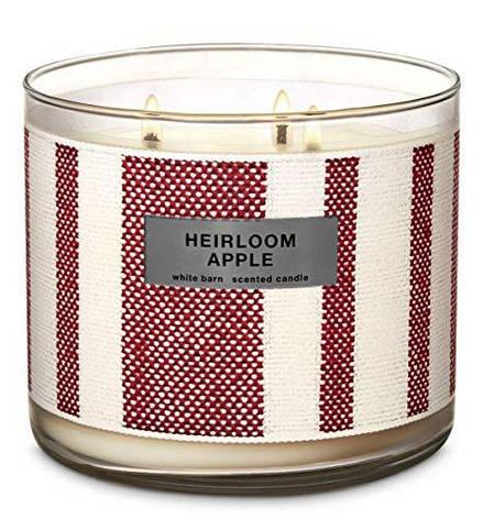 Свеча ароматизированная Bath and Body Works Heilroom Apple Scented Candle, фото 2