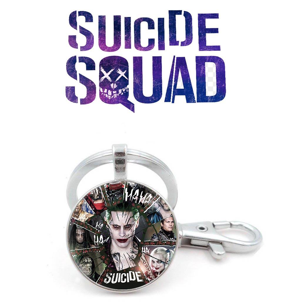 Брелок joker Отряд самоубийц / Suicide Squad