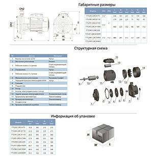 Насос центробежный многоступенчатый 380В 3.0кВт Hmax 70м Qmax 250л/мин LEO 3.0 (7752983), фото 2