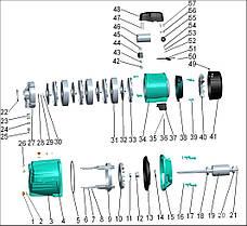 Насос центробежный многоступенчатый 0.6кВт Hmax 46,5м Qmax 70л/мин LEO 3.0 (775432), фото 2