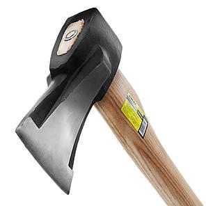 Топор колун 1200г деревянная ручка (ясень) Sigma (4322341), фото 2