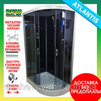 Душевой бокс Atlantis AKL 120P-T EKO GR L 120х80х220