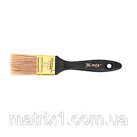 """Кисть плоская """"Профи"""" 1,5 (38 мм)"""", натуральная щетина, пластмассовая ручка МТХ"""