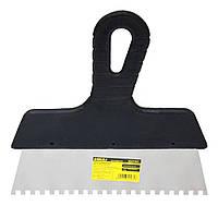 Шпатель зубчатый (нержавеющий) 250мм 6х6 Sigma (8321261)