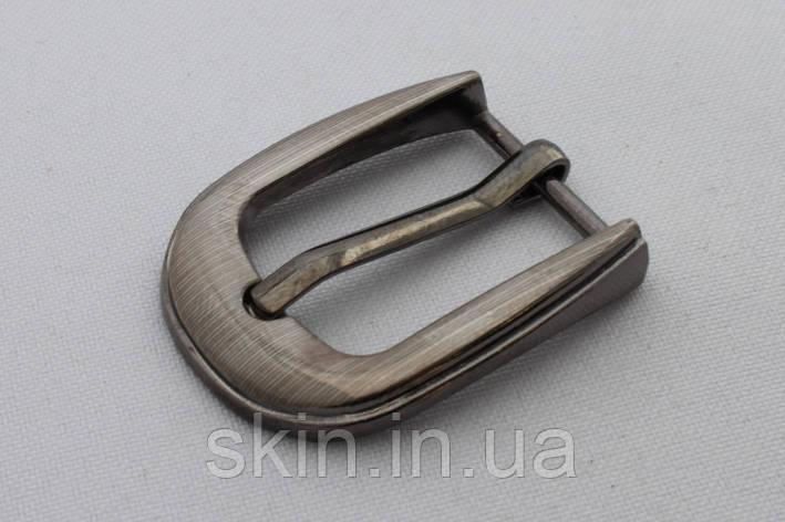 Пряжка ременная, ширина - 20 мм, цвет - никель, артикул СК 9928, фото 2