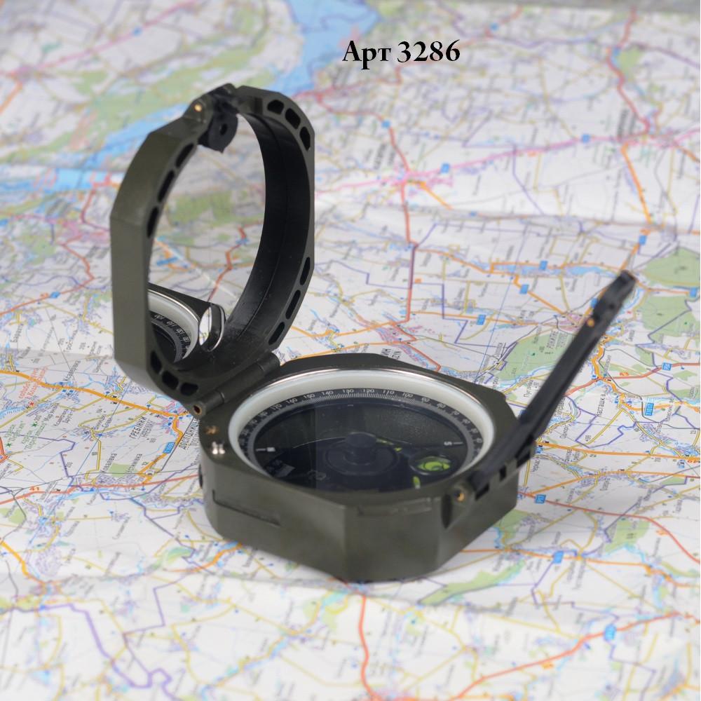 M-Tac компас артиллерийский олива