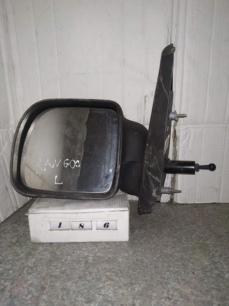 №186 Б/у зеркало боковое левое для Renault Kangoo 1997-2003