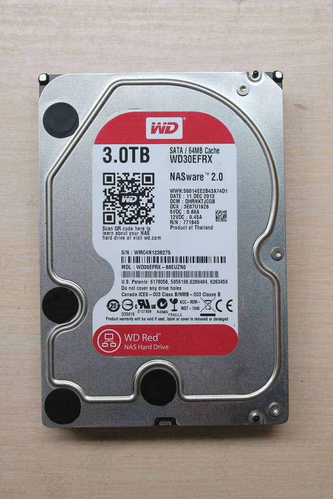 "Жесткий диск Western Digital Red WD30EFRX 3TB 3.5"" Б/У"
