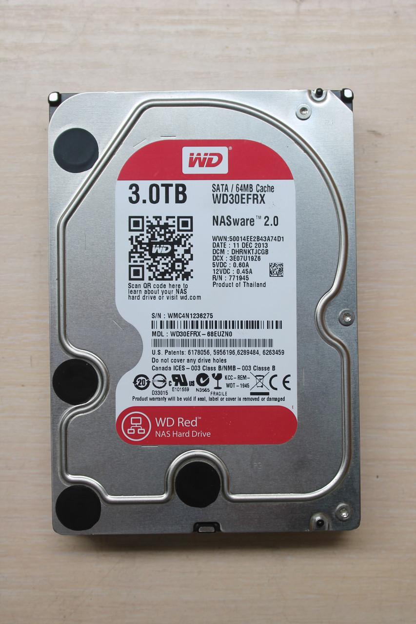 "Жесткий диск Western Digital Red WD30EFRX 3TB 3.5"" Б/У"