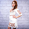 """Жіноча сукня з вишивкою  """"Янтар"""", фото 3"""