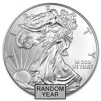 Инвестиционная монета Американский Серебряный Орел 1$
