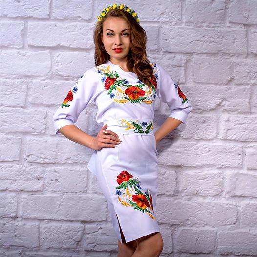 """Жіноча сукня з вишивкою """"Квітковий сад"""""""