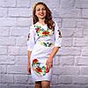 """Жіноча сукня з вишивкою """"Квітковий сад"""", фото 4"""