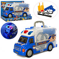 Детский игровой набор полицейского машинка 661-173
