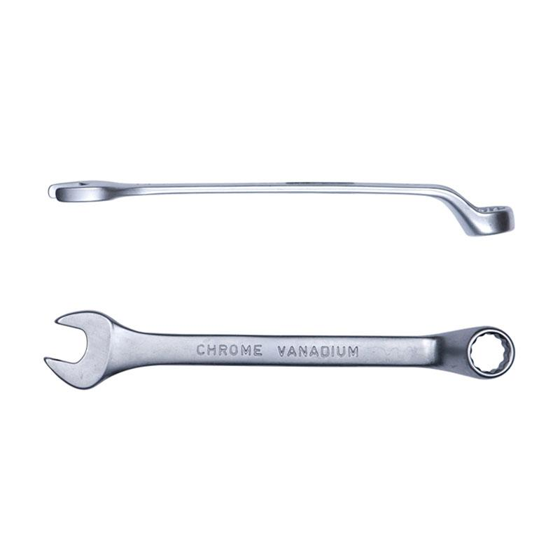Ключ рожково-накидной глубокий 15мм CrV satine Sigma (6024151)