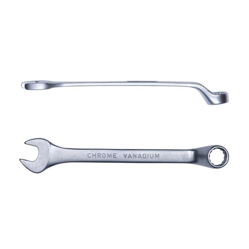 Ключ рожково-накидной глубокий 19мм CrV satine Sigma (6024191)
