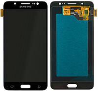Дисплей (экран) для телефона Samsung Galaxy J5 J5108 2016, J510F, J510FN, 510H (OLED, high copy) + Touchscreen Black