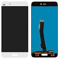 Дисплей (экран) для телефона Xiaomi Mi5 + Touchscreen White