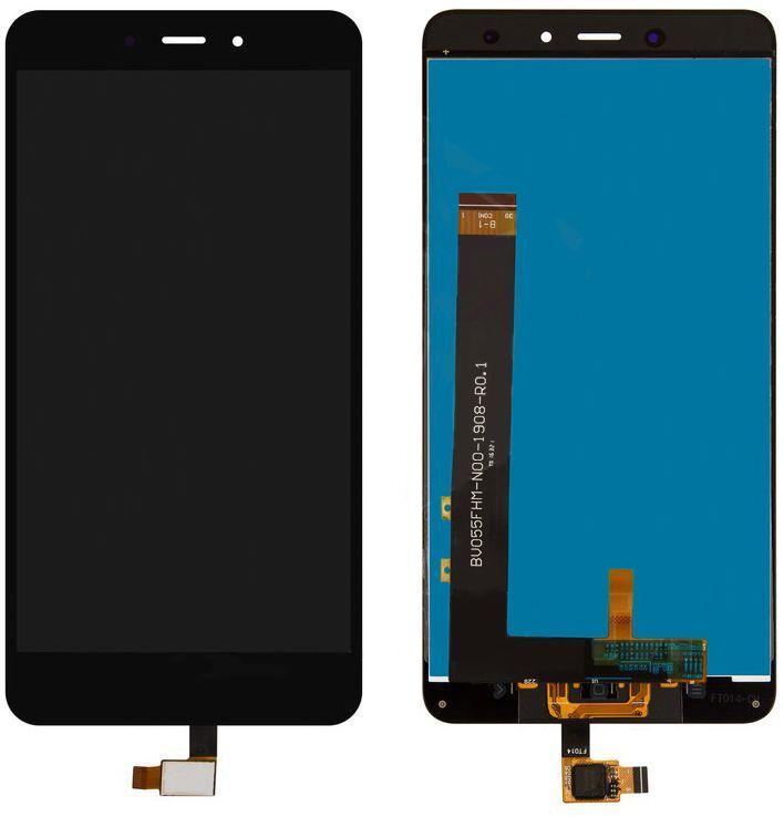 Дисплей (экран) для телефона Xiaomi Redmi Note 4 MediaTek + Touchscreen Black