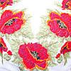 """Жіноча сукня з вишивкою хрестиком """"Маки"""", фото 5"""