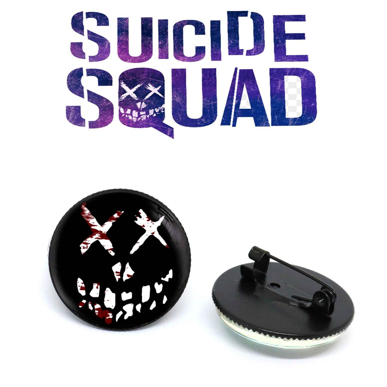 Значок suicide smile Отряд самоубийц / Suicide Squad