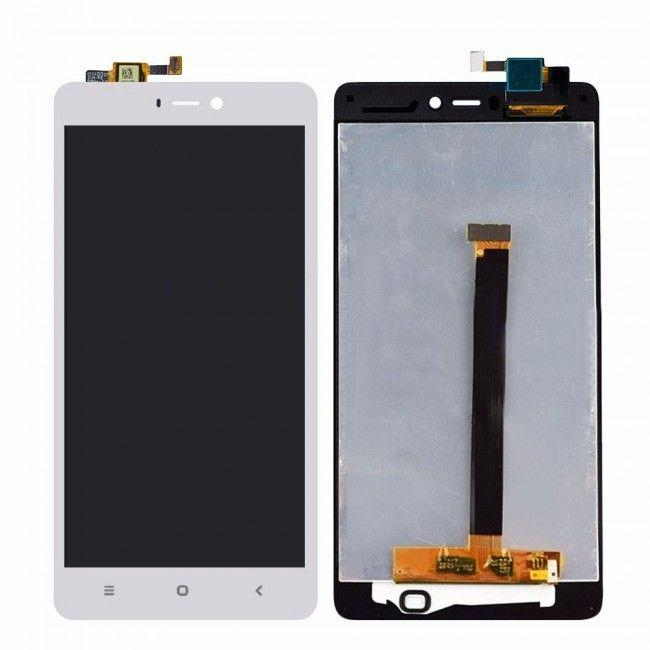 Дисплей (экран) для телефона Xiaomi Mi4s + Touchscreen White