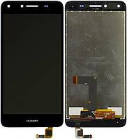 Дисплей (экран) для телефона Huawei Y5 II, Honor 5, Honor Play 5, CUN-U29, CUN-L21 + Touchscreen Original Black