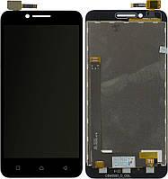 Дисплей (экран) для телефона Lenovo Vibe C A2020 + Touchscreen Black