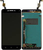 Дисплей (экран) для телефона Lenovo Vibe K5 A6020a40 + Touchscreen Black