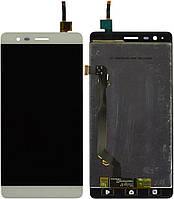 Дисплей (экран) для телефона Lenovo Vibe K5 Note A7020a40, Vibe K5 Note Pro A7020a48 + Touchscreen White