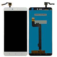 Дисплей (экран) для телефона Xiaomi Mi Max 2 + Touchscreen Original White