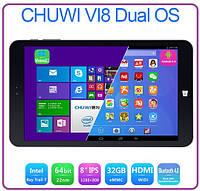ПЛАНШЕТ Chuwi VI8 двойной ос 2 ГБ 32 ГБ 8 дюймов IPS Intel Z3735F Windows 8.1 Android 4.4 WIFI Bluetooth gps