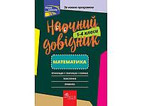 Математика 1-4 клас Наочний довідник