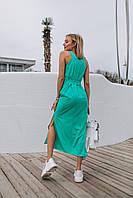 Платье женкое лето 2019 (цвет - мята, ткань - софт) Размер S, M, L (розница и опт)