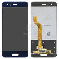 Дисплей (экран) для телефона Huawei Honor 9 (Ver. 1, TF-L09, STF-L19) + Touchscreen Original Blue