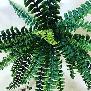 Искусственный папоротник. Декоративное растение., фото 2