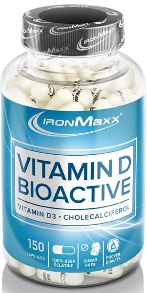 Витамины IronMaxx - Vitamin D Bioactive (150 капсул) ***