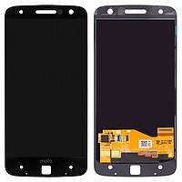 Дисплей (экран) для телефона Motorola Moto Z XT1650, XT1650-01, XT1650-02, XT1650-03, XT1650-05 + Touchscreen Black