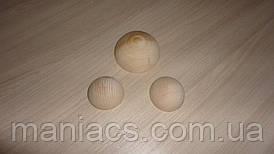 Полусфера деревянная, 5 см