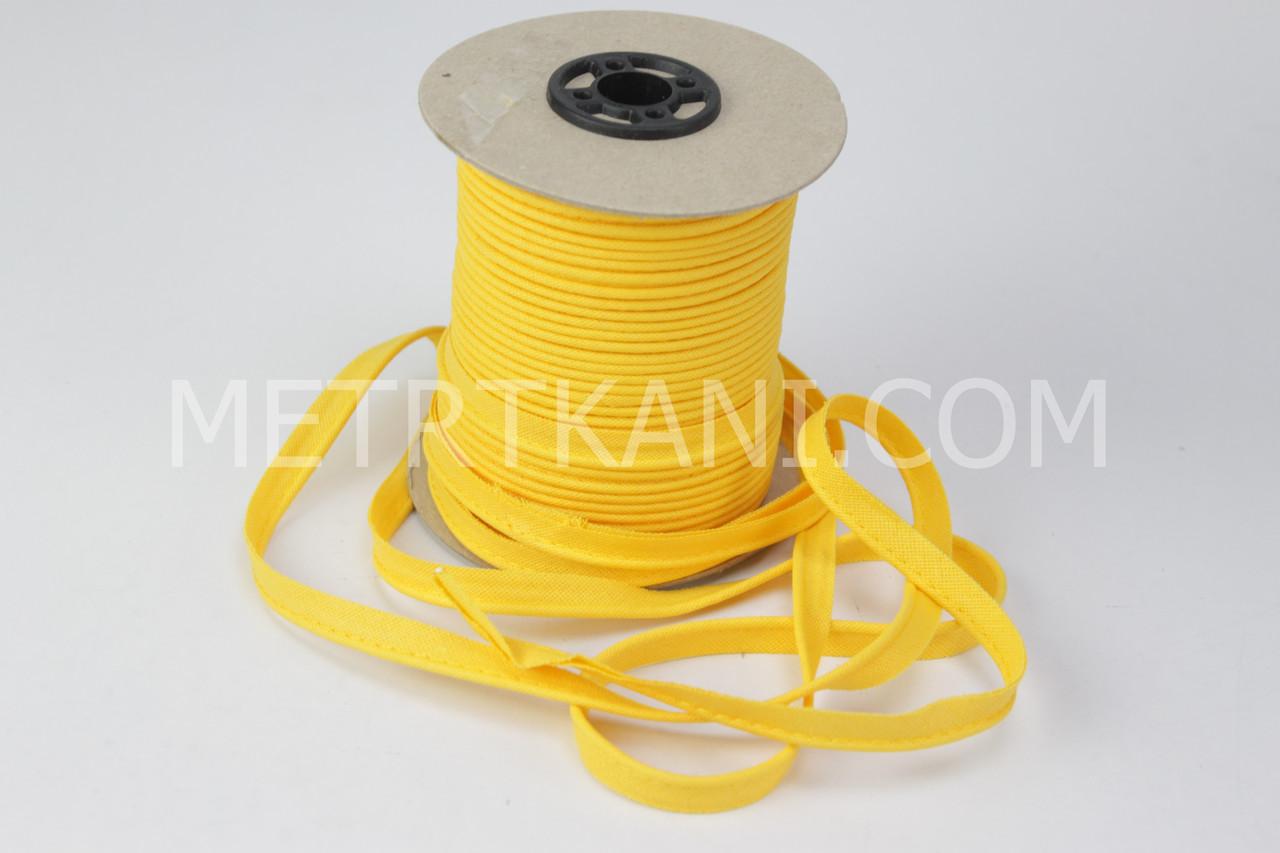 Кант желтый  100% хлопок № Кн-04