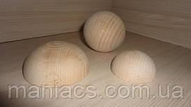 Полусфера деревянная, 7 см