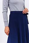Стильная юбка с завязкой (1847) разные расцветки, фото 4