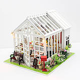 """3D Румбокс Кафе """"Оранжерея"""" - Кукольный Дом Конструктор / DIY Doll House от CuteBee, фото 3"""