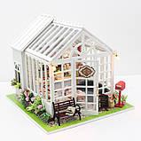 """3D Румбокс Кафе """"Оранжерея"""" - Кукольный Дом Конструктор / DIY Doll House от CuteBee, фото 2"""