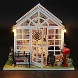 """3D Румбокс Кафе """"Оранжерея"""" - Кукольный Дом Конструктор / DIY Doll House от CuteBee, фото 4"""