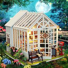 """3D Румбокс Кафе """"Оранжерея"""" - Ляльковий Дім Конструктор / DIY Doll House від CuteBee"""