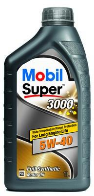 МАСЛО МОТОРНОЕ MOBIL1 SUPER 3000 5W40 1л (MB 5W40 3000 1LL)