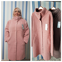 Женское пальто из шерсти альпака, фото 1