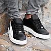 Мужские черные кроссовки Wagoon Чоловічі Кросівки Размер 41,44., фото 4