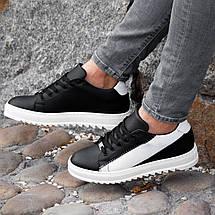 Мужские черные кроссовки Wagoon Чоловічі Кросівки Размер 41,44., фото 3